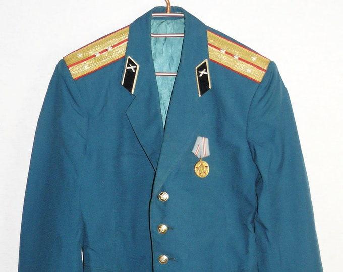 Uniform Jacket Parade Blazer Soviet Russian Army Military Tunic Captain Large Size