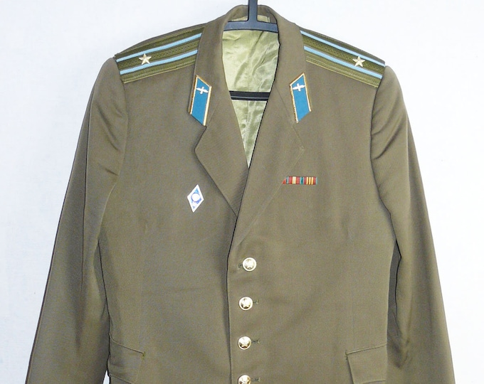 Daily Major Russian Soviet Army Military Uniform  Military Jacket Blazer Tunic