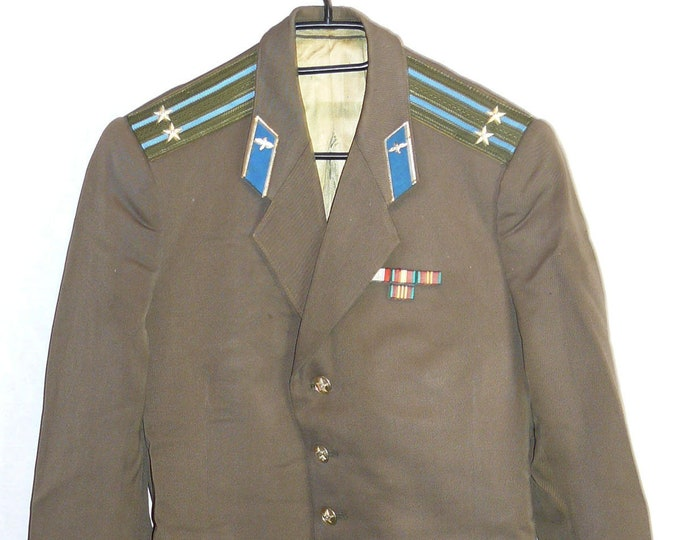 Colonel Blazer Soviet Russian Army Military Daily Jacket Tunic Air Force Uniform