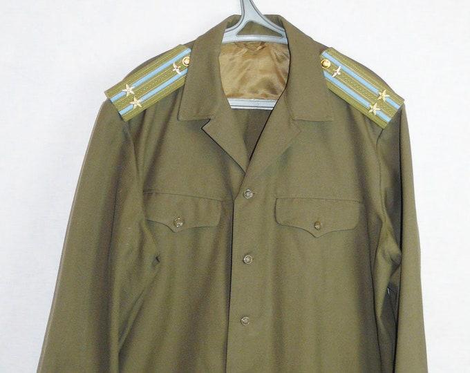 Blazer Colonel Daily Jacket Tunic Original Russian Soviet USSR Military Uniform