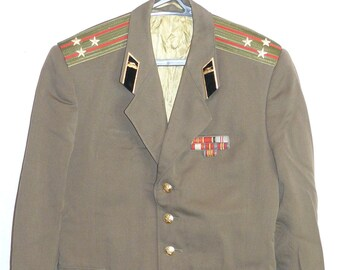 Colonel Blazer Russian Soviet Army Military Uniform Daily Military Jacket Tunic