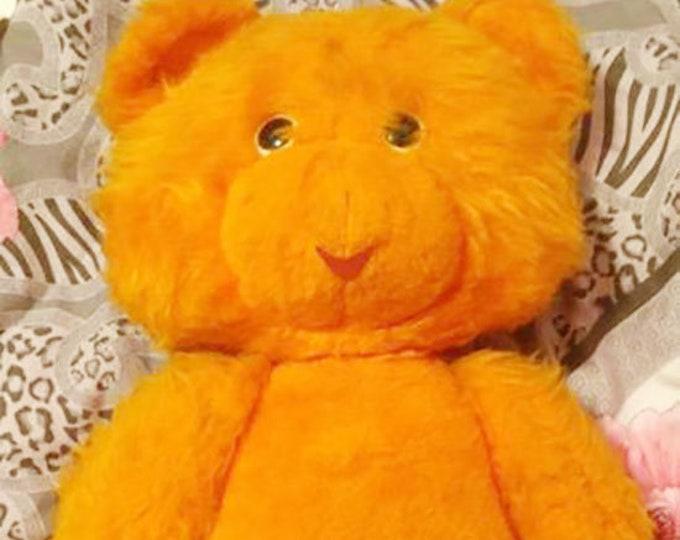 Large Original Soviet Russian Vintage Plush Toy Teddy Bear Doll USSR 75 cm