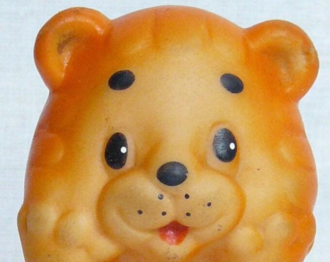 Vintage Original Soviet Russian Rubber Lion Kid Toy Doll  USSR