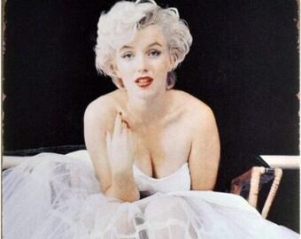"New Loft Interior ""Marilyn Monroe""  Sex Symbol Movie Cinema Actress Vintage Style Decor Metal Wall Tin Plate Sign"