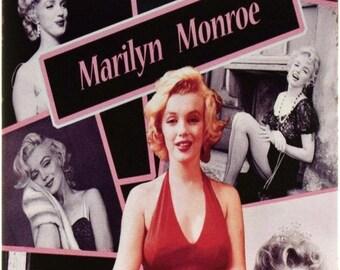 "New Loft Interior ""Marilyn Monroe In Red Dress"" Sex Symbol Movie Cinema Actress  Decor Metal Wall Tin Plate Sign"