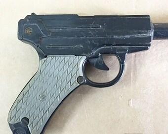 Plastic Parabellum Luger Pistol Original Vintage USSR Soviet Toy Gun