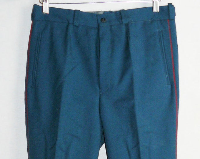 Parade Vintage Soviet Army Officer Russian Uniform Pants Trousers USSR