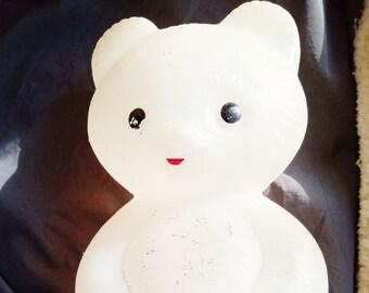 Original Soviet Russian Vintage Plastic Bear Toy Doll USSR 34 cm