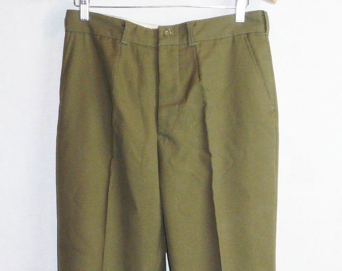 Vintage Officer Daily Pants Trousers Soviet Army Russian Uniform USSR VTG