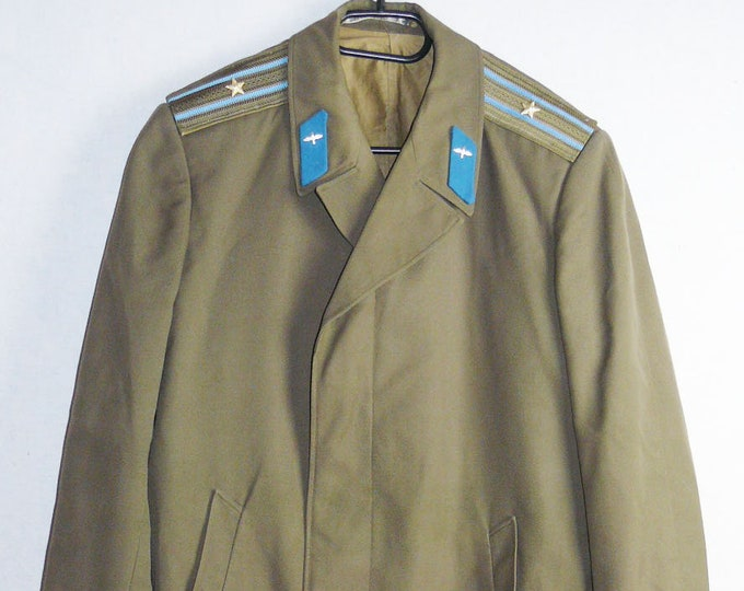 Major Officer Military Coat Cloak Uniform Soviet Russian Red Army Air Force