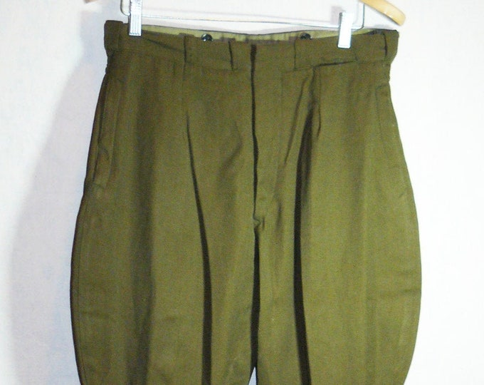 Vintage Soviet Army Pants Breeches Trousers Officer Russian Uniform USSR VTG
