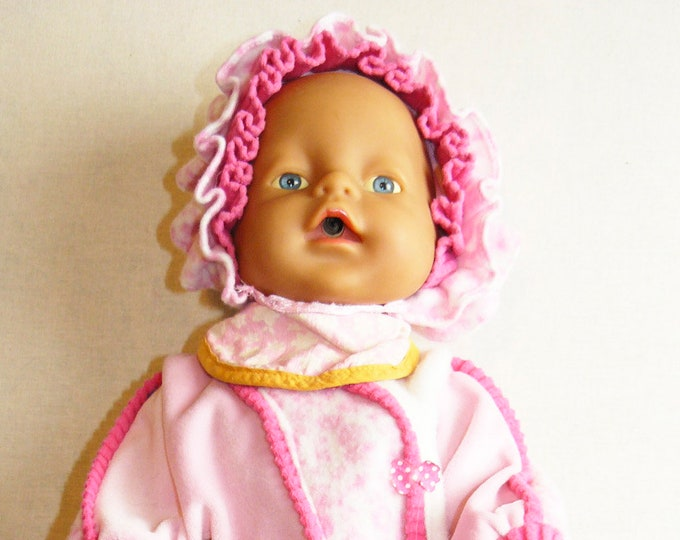Vintage Toy Doll Plastic Babe Soviet Russian Baby Clothes Child 32 cm/12.6 in USSR