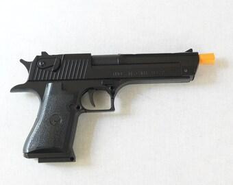 New Souvenir Jet Flame Pistol Gun Gas Lighter Desert Eagle With Holster