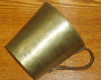 Original WW1 Trench Copper Mug Pot Cup WWI Relic Good Condition