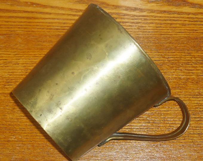 Original WW1 Trench Copper Mug Pot Cup WWI Relic Good Condition