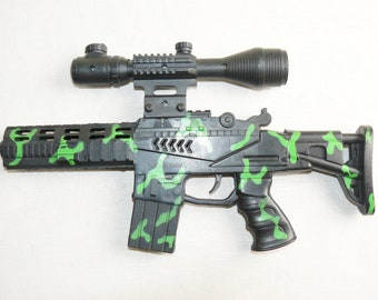 Chinese Sniper Optic Automatic Rifle Toy Weapon Plastic Gun