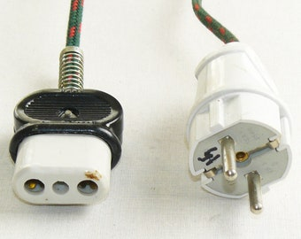 Power Cord For Soviet Vintage Russian  Electric Samovar Electric Cable Kettle