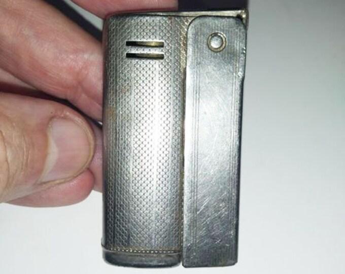 """Original Vintage Austrian Metal Petrol Lighter """"IMCO"""" Vienna Austria"""