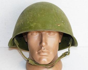 Helmet Steel SSh 40 WWII Design Original Military Soviet Army RKKA WW2 Size 2