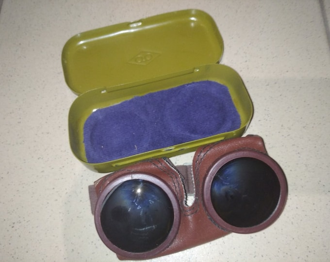 Mountain Sniper Goggles Glasses Special Forсes Soviet USSR Russian Army + Box