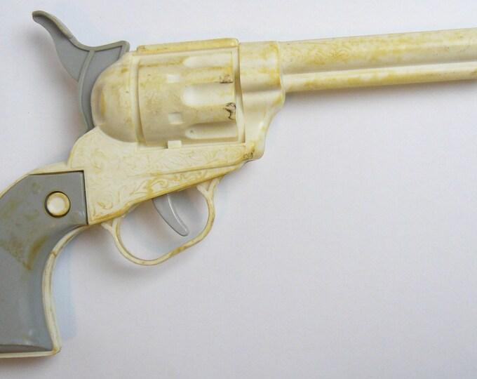 Pistol Toy Original Vintage USSR Soviet Plastic Revolver Russian Gun