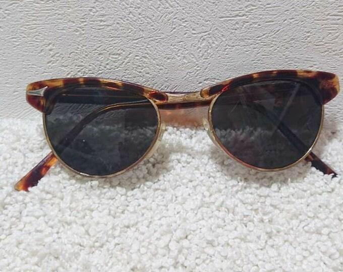 Vintage German Sunglasses. Retro Sunglasses. Style 70's.Vintage Lens