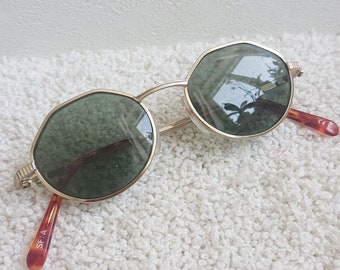 """Vintage German Sunglasses """"Route 66"""". Retro Sunglasses. Style 80's.Vintage Lens"""