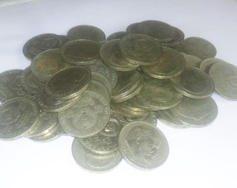 Lot 100 PCS One 1 Ruble 1970 Russian Soviet Coin 100th Anniversary of Lenin Birthday
