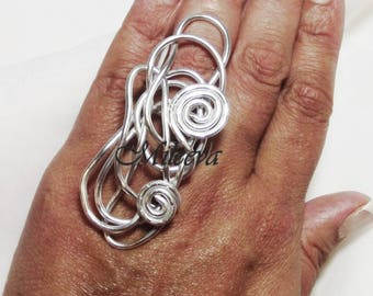 Chaos Wire Wrapped Ring