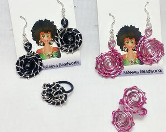 CUSTOM ONLY: Kids Spiral Wire Sets