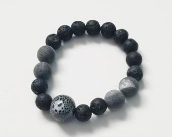 Lava Ash Men's/Unisex Bracelet