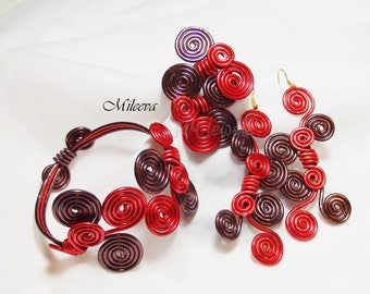 Autumn Bliss Wire Spiral Set