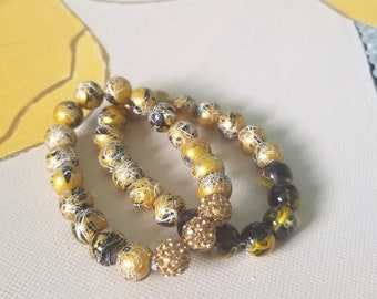Sparkle Beaded Bracelet Stacks ON SALE!