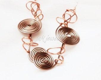 WildWire Artistic Earrings
