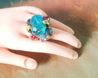 Variety of Crystal Rings! You Choose!