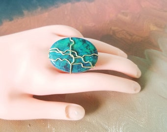 Pre-Holiday SALE! Stone Wire-Wrapped Rings!