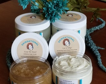 """Skinsational """"Let It Whip"""" All Natural and Organic Hand-Whipped Body Butter"""