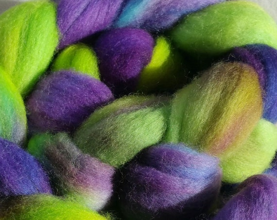 "Roving wool for spinning, felting or quilter ""Monet 2"""