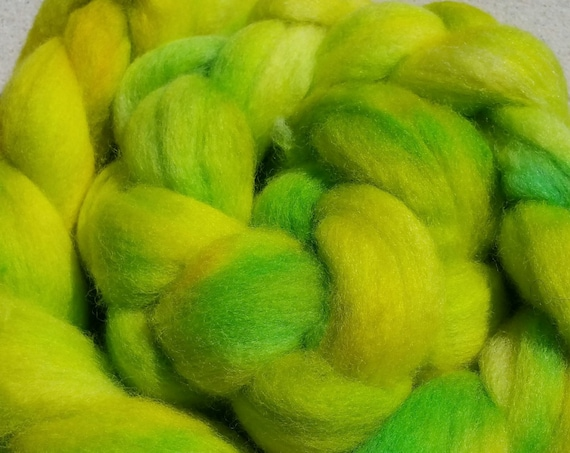 """Braided wool spinning, felting, quilting """"Anice"""""""