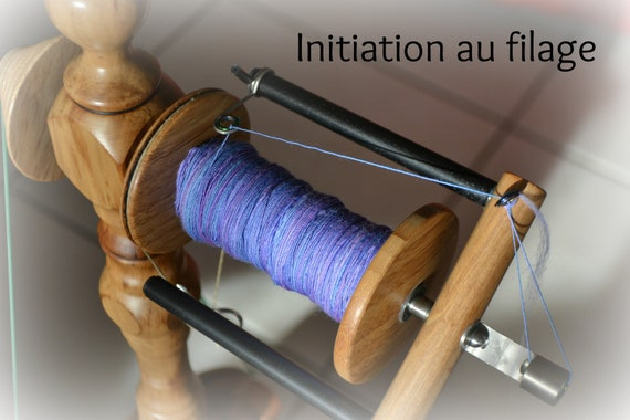 INTRODUCTORY spinning at the spinning wheel in 2 hours in Alsace