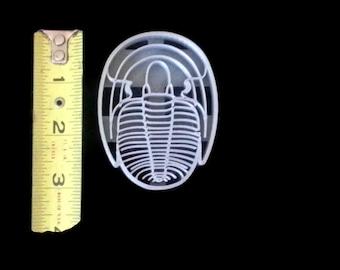 Trilobite Fossil Cookie Cutter Fondant Cutter