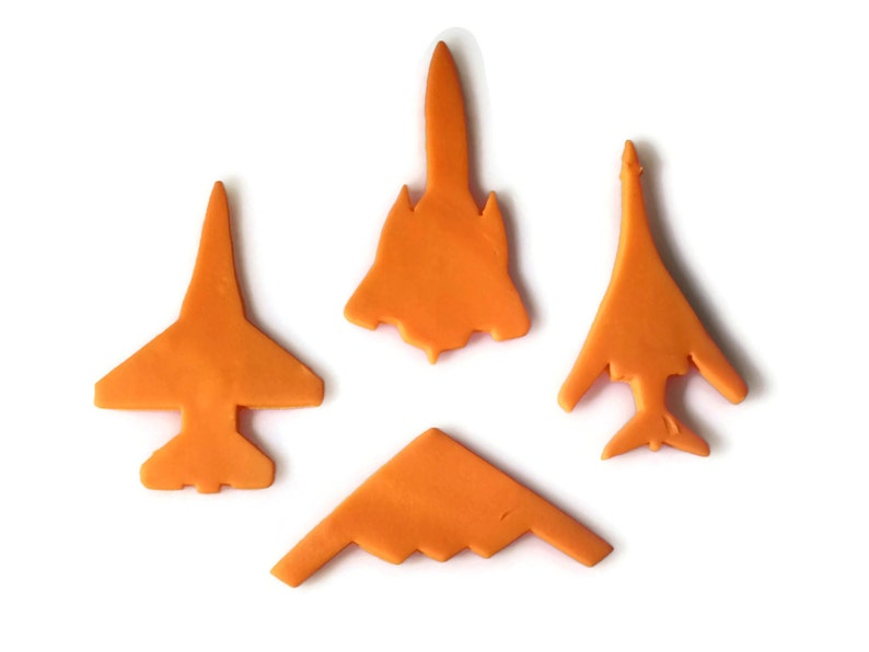 3D Printed Plane cookie cutter set