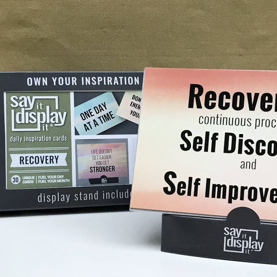 Recovery Quotes Recovery Counselor Aa Sayings Sponsor Gift Etsy