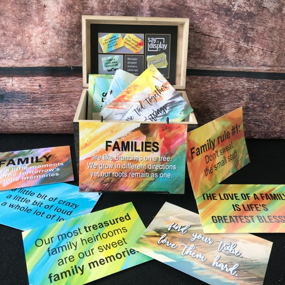 daily inspiration family quotes family sayings desk decor