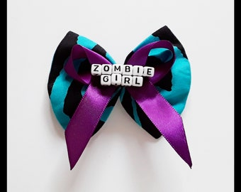 Cosplay  Halloween  Gift The Walking Dead inspired Hair BowBow Tie