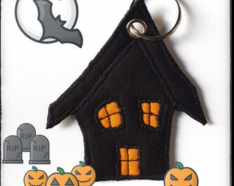 """Keychain """"Haunted House"""""""