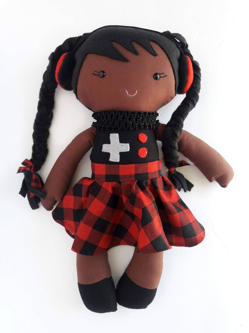 Doll  Dress  one cloth doll with dress cotton doll set  image 0