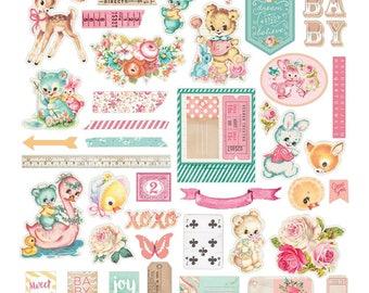 Prima Heaven Sent 2 Ephemera Cardstock Die Cuts & Stickers #595401