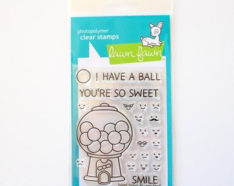 Lawn Fawn Sweet Smiles Clear Stamps LF895