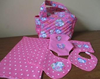 Doll Diaper Bag, Baby Doll Diaper Bag,Doll Diaper Bag Accessories, Baby Doll Diapers, Doll changing, Doll Bib, Bitty Baby Diaper Bag